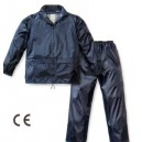 Completo Impermeabile Niagara Blu Nylon